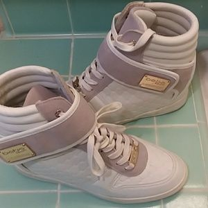 8515aaed49c bebe Shoes - Bebe Sport Colby Wedge Sneakers